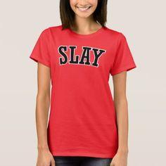 Awesome Urban Retro Slang | SLAY T-Shirt - retro gifts style cyo diy special idea