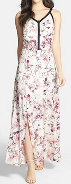Beautiful floral print maxi @Nordstrom http://rstyle.me/n/g2cnrnyg6