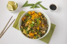 Quinoa Fried Rice -
