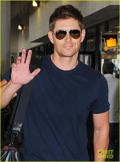 this is making me drool...  #Jensen at LAX