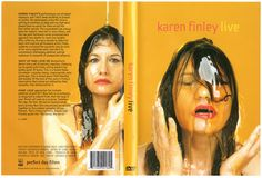 """KarenFinley025web.jpg  """"Shut Up and Love Me deconstructs desire into a set of unlovely impulses, climaxing (so to speak) with Finley rolling naked in her golden pond of honey. This is a female libido run amuck - raunchy, messy, inappropriate, even grotesque. This is sexual power both flaunted and mocked. At the core of this work is Finley's observation that women are defined by their sexuality, then demonized for it."""""""