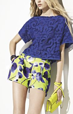 Shorts in living color by @Milly by Michelle Smith $215 #fashion #spring