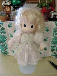 Precious Moments Jannelle Doll by thevillagemagpie on Etsy