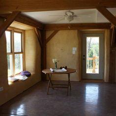 Cob House Interior | Interior of a cob home