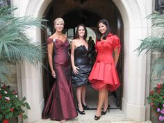 Mother of the Bride Gowns short and long at Andrea's Fashions and Andrea's Haute Couture