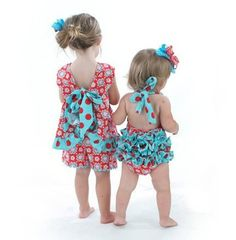 So cute for babies!!  I love ruffled bottoms!!