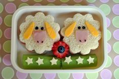 With Our Best . { super cUte food for little Ones } . - Lunch for school - Sandwich Bento Recipes, Baby Food Recipes, Toddler Meals, Kids Meals, Bento Kids, Lunch Kids, Food Art For Kids, Boite A Lunch, Childrens Meals