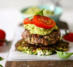 Beef and feta banting burgers - sarah graham food Banting Diet, Banting Recipes, Paleo Recipes, Cooking Recipes, Delicious Recipes, Banting Desserts, Paleo Ideas, Radish Recipes, Pescatarian Recipes