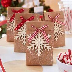 Resultado de imagem para decorate kraft gift bags