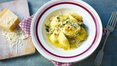 BBC - Food - Recipes : Tortellini with spinach and ricotta
