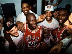 What a team! Chicago Bulls 1st Championship '91