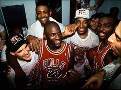 What a team! Chicago Bulls 1st Championship '91