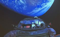 The Falcon Heavy rocket successfully propelled his Roadster into orbit.