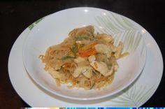 spaghetti alla piastra cinesi