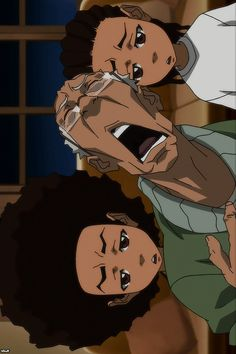 Huey Freeman Only Speaks The Truth / The Boondocks The Boondocks Cartoon, Boondocks Drawings, Riley Boondocks, Dope Cartoon Art, Dope Cartoons, Cartoon Drawings, Funny Phone Wallpaper, Cartoon Wallpaper, Black Cartoon Characters