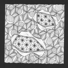 Tangle Art by enajylime, via Flickr by Emily Perkins