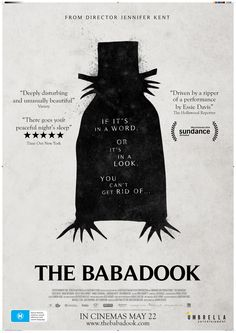 Jennifer Kent brings us her latest horror movie from Australia to scare little children worldwide with The Babadook. I saw the movie trailer and The Babadook lo. Horror Movie Posters, Best Movie Posters, Best Horror Movies, Scary Movies, Great Movies, Real Horror, Creepy Horror, Movies Free, Indie Movies