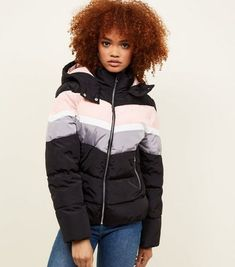 Update your cold-weather style with our women's outerwear. From light layers to cosy ladies' outerwear, shop at New Look with free delivery options. Best Winter Jackets, Winter Coats Women, Coats For Women, Jackets For Women, Clothes For Women, Colour Block, Color Blocking, New Look Jackets, New Look Women