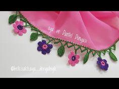 Mor Pembe Çiçeklerin Zarifliği Tığ Oyası Yapımı - YouTube Elsa, Make It Yourself, You Are Special, Jelsa
