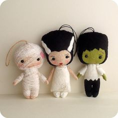 this year's halloween collection by Gingermelon, via Flickr