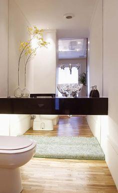 Banheiro Básico (a bancada pode ser no BlackStar) Enjoou> troca os detalhes (arranjo, porta objetos) fica outro banheiro.