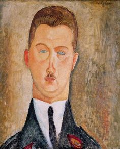 "urgetocreate: ""Amedeo Modigliani (1884–1920), Dr François Brabander, 1918 """