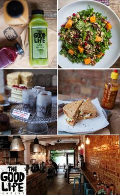 The Good Life Eatery: Juices, Salads, Cakes and The Rest!  Location: Sloane Square and Marylebone