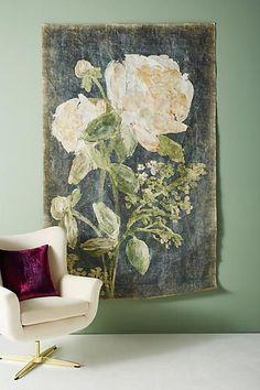Anthropologie Sarita Floral Tapestry, #ad