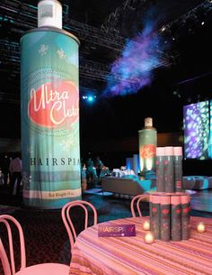 if only we could find a giant hairspray can....