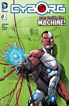Comic Book Review: Cyborg #1 - Bounding Into Comics DC Comics Book cover art super heroes villians