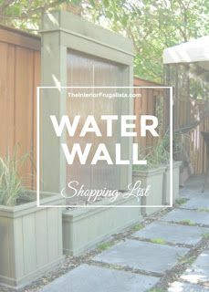 Water Wall Confirmation Landing Page