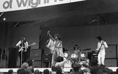 In Bob Dylan came out of retirement to perform at the little-known Isle of Wight Festival. These images capture the free spirit of an extraordinary time Isle Of Wight Festival, Roger Daltrey, Progressive Rock, Bob Dylan, Rock Music, Getting Old, Hanging Out, Life Is Good, Pictures
