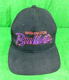 Washington Bullets Sports Specialties Script Hat Black Dome NBA Snapback Cap   SportsSpecialties  Cap Baseball 2c0a6626f6af