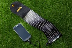 Bushnell's PowerSync SolarWrap Mini: Developed for the U.S. Army, a new breed of ultrathin solar panel can power your smartphone.