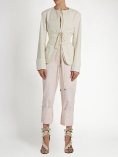 Isabel Marant Honey corset-waist jacket