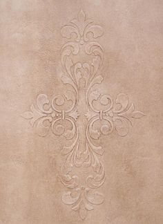 Stencils | Fleur De Lis Scroll Modern Masters | Royal Design Studio