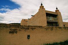 San José de Gracia Church, Las Trampas, New Mexico