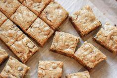 Browned Butter & Bourdon Blondies ~ saving dessert.com