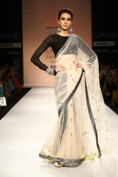 Sari... amazing long sleeve blouse