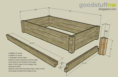 Get access to over 150 free plans for Raised Garden Beds, Planter Box Plans, Elevated Garden Bed Plans and much more. Raised Garden Bed Plans, Raised Bed Garden Design, Building A Raised Garden, Elevated Dog Bed, Elevated Garden Beds, Planter Box Plans, Garden Frame, Garden Boxes, Garden Planters