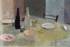 Leonardo Cremonini - la fine di un pasto - 1949