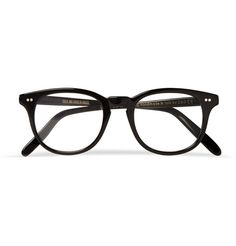 b3144ea63d Cutler and Gross Square-Frame Acetate Optical Glasses