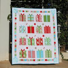 Christmas quilt.