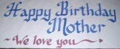 HUGE Personalized Custom Hand Painted Paper Banners for Happy Birthdays, Anniversary, Graduation, Retirement, Congratulations, Weddings, 20th 25th, 30th, 40th, 50th, 60th Ect. by Toomuchstuff4us, http://www.amazon.com/dp/B001TP22FG/ref=cm_sw_r_pi_dp_s-s9rb1RMN1H8