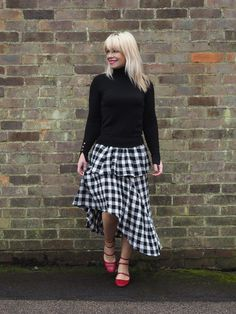 Gingham Frills The Fashion Lift