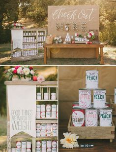 If this isn't the cutest escort card display, we don't know what is!