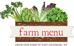 applewood has dedicated a special menu that features offerings from their very own farm on a weekly basis