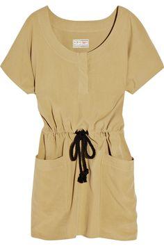 Aubin & Wills  Leverlake washed-silk dress