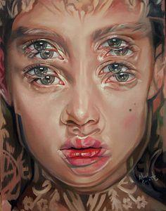 Королева двойных глаз / Alex Garant