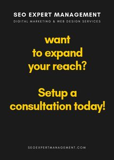 SEO Expert management is a top Online marketing company based in Orange County. As a leader in the online marketing industry we are always here to help you grow your bus Digital Marketing Quotes, Digital Marketing Business, Digital Marketing Strategy, Marketing Ideas, Marketing Tools, Business Cards, Advertising Services, Seo Services, Internet Marketing